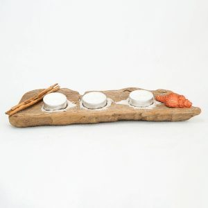 bougeoir-bois-flotté-trois-bougies-coquillage-couleur-cuivre-artisanat-français-aude-minervois-hérault-languedoc-roussillon-1
