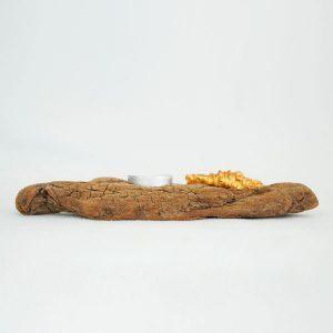 bougeoir-bois-flotté-une-bougie-coquillage-doré-artisanat-français-aude-minervois-hérault-langudoc-roussillon-5