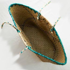 Grand-panier-raphia-vert-artisanat-Madagascar-1