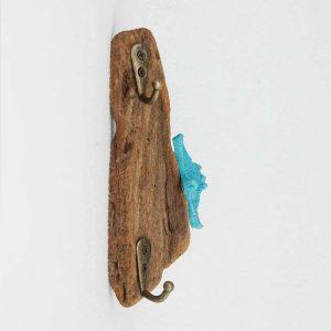 patère-bois-flotté-étoile-de-mer-bleue-porte-clés-porte-bijoux-artisanat-français-aude-minervois-hérault-2