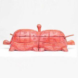 sculpture-salière-poivrière-tortue-bois-artisanat-de-madagascar-3