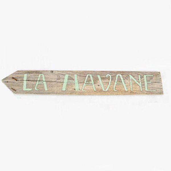 panneau-directionnel-vacances-la-havane-2-deco-fait-main-artisanat-français