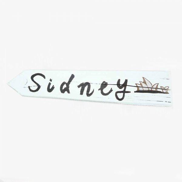 panneau-directionnel-vacances-sidney-deco-fait-main-artisanat-français