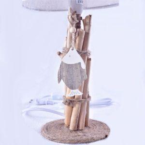 lampe-de-chevet-bois-flotte-corde-de-chanvre-deco-poisson-artisanat-languedoc-roussillon-minervois