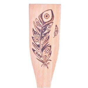 spatule-bois-decoration-plume-ethnique-tribal-artisanat-francais