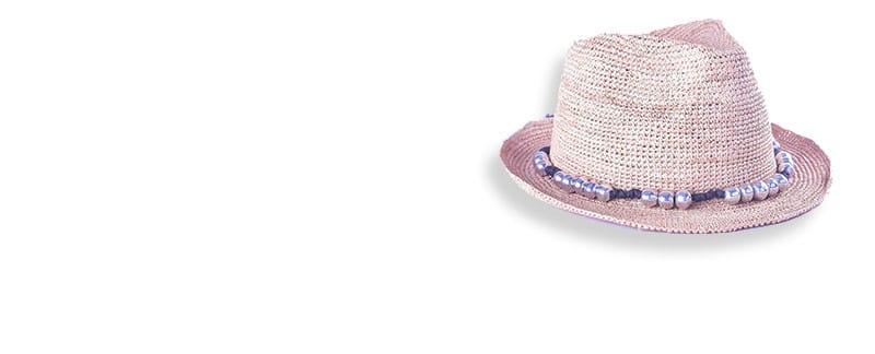 chapeau malgache raphia