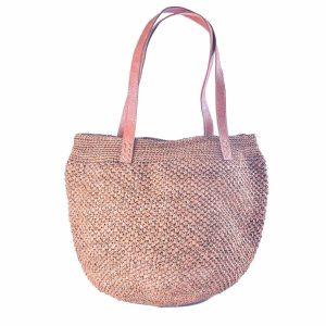 sac-boule-chic-raphia-couleur-the-anse-cuir-artisanat-madagascar