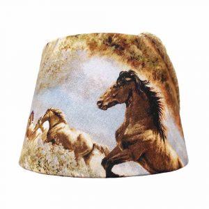abat-jour cheval chevaux galopant