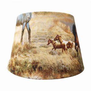 abat-jour cheval pour lampe