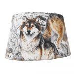 abat-jour personnalisé loup