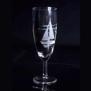 gravure-personnalise-verre-a-champagne-voilier-ocean-artisanat-francais-2