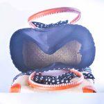 sac-cabas-raphia-elegant-foulard-bleu-marine-a-pois-blanc-artisanat-malgache