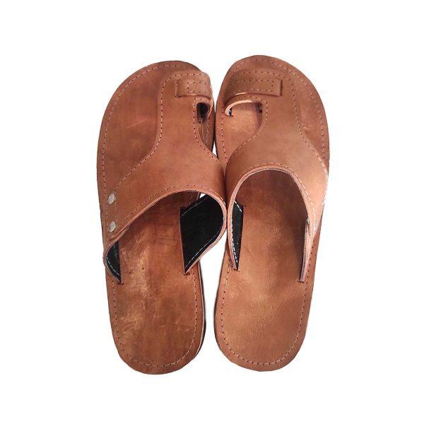 sandales-camel-homme-cuir-de-zebu-pointure-43-artisanat-malgache